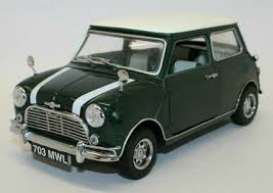 Mini  - Cooper green - 1:18 - Solido - 1800603 - soli1800603 | The Diecast Company