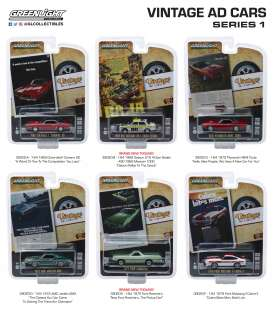Assortment/ Mix  - various - 1:64 - GreenLight - 39020~12 - gl39020 | The Diecast Company