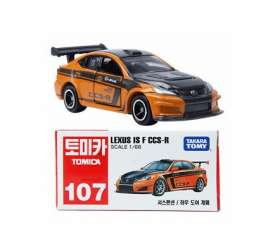 Lexus  - IS F CCS-R orange/black - 1:66 - Tomica - 107 - to107 | The Diecast Company