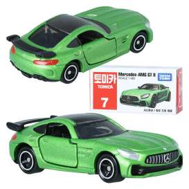 Mercedes Benz  - AMG GT-R green - 1:65 - Tomica - 007 - to007 | The Diecast Company