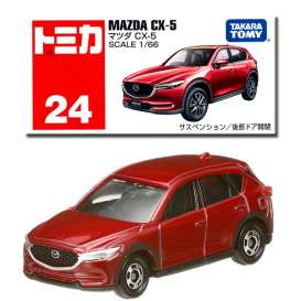 Mazda  - CX-5 red - 1:66 - Tomica - 024 - to024 | The Diecast Company