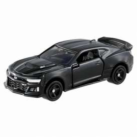 Chevrolet  - Camaro 2018 black - 1:66 - Tomica - 040 - to040 | The Diecast Company