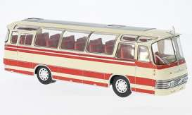 Neoplan  - 1964 beige/red - 1:43 - IXO Models - BUS011 - ixBUS011 | The Diecast Company