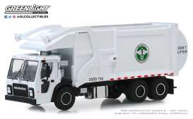 Mack  - LR Refuse 2019 white - 1:64 - GreenLight - 45080C - gl45080C | The Diecast Company