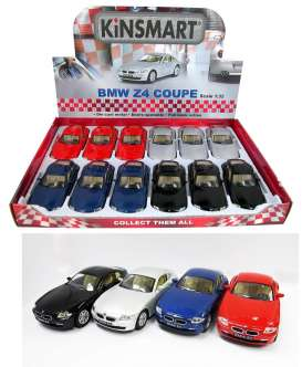 BMW  - Z4 Coupe various - 1:38 - Kinsmart - 5318D - KT5318D | The Diecast Company