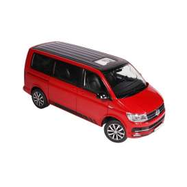 Volkswagen  - T6 Multivan Edition 30 2018 red/black - 1:18 - NZG - 95420010 - NZG95420010 | The Diecast Company