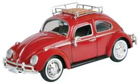 Volkswagen  - Beetle red - 1:24 - Motor Max - 79559 - mmax79559r | The Diecast Company