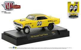 Chevrolet  - Nova Gasser 1967 black/yellow - 1:64 - M2 Machines - 31600GS01 - M2-31600GS01 | The Diecast Company