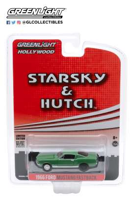 Ford  - Mustang 1966 green - 1:64 - GreenLight - 44855B - gl44855B | The Diecast Company
