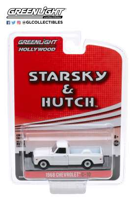 Chevrolet  - C-10 1968 white - 1:64 - GreenLight - 44855D - gl44855D | The Diecast Company