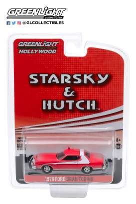 Ford  - Gran Torino 1976 red - 1:64 - GreenLight - 44855F - gl44855F | The Diecast Company