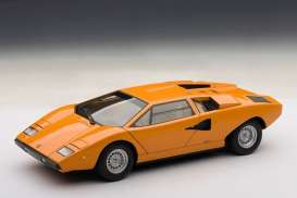 Lamborghini  - Countach LP 400 1974 orange - 1:87 - Minichamps - 870103124 - mc870103124 | The Diecast Company