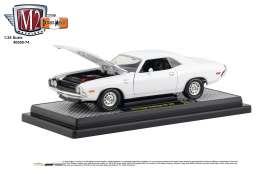 Dodge  - Challenger 1970 white - 1:24 - M2 Machines - 40300-74A - M2-40300-74A | The Diecast Company