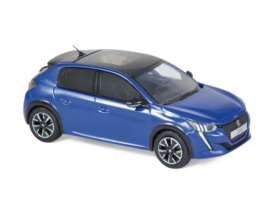 Peugeot  - 208 GT Line 2019 blue - 1:43 - Norev - 472831 - nor472831 | The Diecast Company