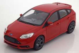 Ford  - Fiesta ST 2018 red - 1:87 - Minichamps - 870087104 - mc870087104 | The Diecast Company
