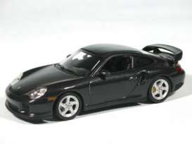 Porsche  - 911 2000 black - 1:87 - Minichamps - 870068224 - mc870068224 | The Diecast Company