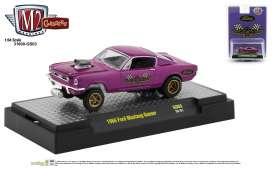 Ford  - Mustang 1966 purple - 1:64 - M2 Machines - 31600GS03 - M2-31600GS03 | The Diecast Company