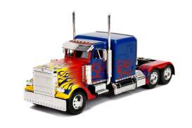 Transformers Western Star - blue/flames - 1:24 - Jada Toys - 30446 - jada30446 | The Diecast Company