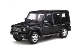 Mercedes Benz  - G-Class 55 AMG 2003 black - 1:18 - OttOmobile Miniatures - ot320 - otto320 | The Diecast Company