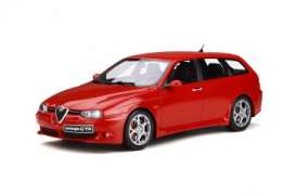Alfa Romeo  - 156 GTA 2002 red - 1:18 - OttOmobile Miniatures - ot746 - otto746 | The Diecast Company