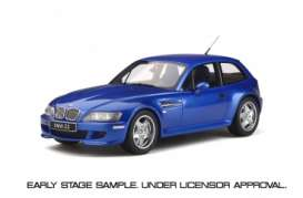 BMW  - Z3 M Coupe 3.2 1999 blue - 1:18 - OttOmobile Miniatures - ot318 - otto318 | The Diecast Company