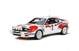 Toyota  - Celica ST185 1982 white/red - 1:18 - OttOmobile Miniatures - ot780 - otto780 | The Diecast Company