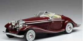 Mercedes Benz  - 540K 1936 dark red - 1:43 - IXO Models - CLC316 - ixCLC316 | The Diecast Company