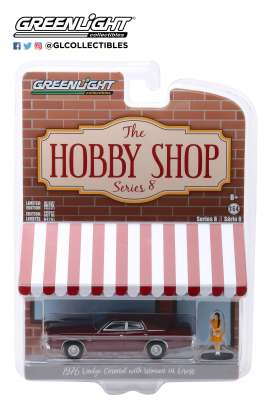 Dodge  - Coronet 1976 red - 1:64 - GreenLight - 97080C - gl97080C | The Diecast Company