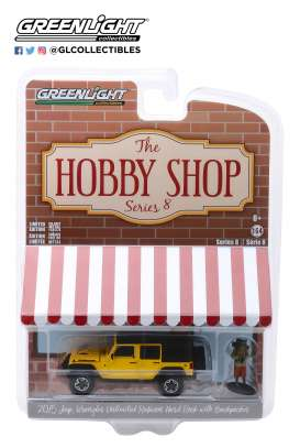 Jeep  - Wrangler 2015 yellow - 1:64 - GreenLight - 97080F - gl97080F | The Diecast Company