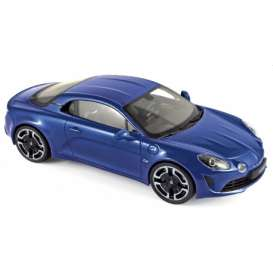 Alpine Renault - A110 2018 blue - 1:18 - Norev - 185310 - nor185310 | The Diecast Company
