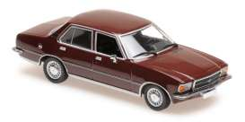 Opel  - Rekord D 1975 dark red - 1:43 - Maxichamps - 940044000 - mc940044000 | The Diecast Company
