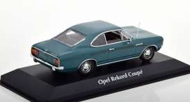 Opel  - Rekord C 1966 blue - 1:43 - Maxichamps - 940046121 - mc940046121 | The Diecast Company