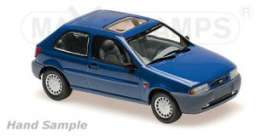 Ford  - Fiesta 1995 blue - 1:43 - Maxichamps - 940085061 - mc940085061 | The Diecast Company