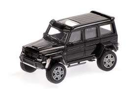Brabus Mercedes Benz - 4x4² 2016 black - 1:87 - Minichamps - 870037204 - mc870037204 | The Diecast Company