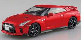 Nissan  - GT-R red - 1:32 - Aoshima - 05825 - abk05825 | The Diecast Company