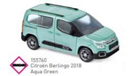 Citroen  - Berlingo 2018 green - 1:43 - Norev - 155760 - nor155760 | The Diecast Company