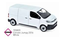 Citroen  - Jumpy 2016 white - 1:43 - Norev - 155820 - nor155820 | The Diecast Company
