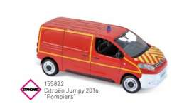 Citroen  - Jumpy 2016 red - 1:43 - Norev - 155822 - nor155822 | The Diecast Company