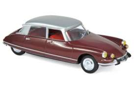 Citroen  - DS 21 Pallas 1967 red - 1:43 - Norev - 157081 - nor157081 | The Diecast Company
