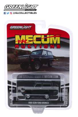 Ford  - Bronco 1968 black - 1:64 - GreenLight - 37190B - gl37190B | The Diecast Company
