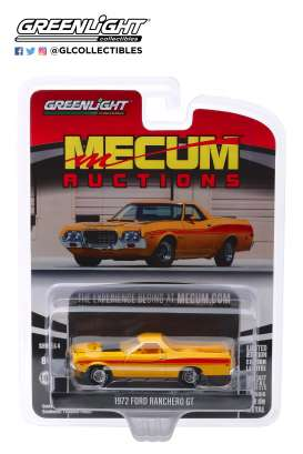 Ford  - Ranchero 1972 yellow - 1:64 - GreenLight - 37190D - gl37190D | The Diecast Company