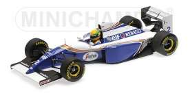 Williams  - 1994 white/blue - 1:18 - Minichamps - 540941821 - mc540941821 | The Diecast Company