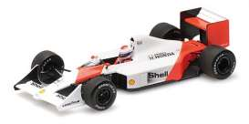 McLaren Honda - 1988 white/orange - 1:43 - Minichamps - 537884199 - mc537884199 | The Diecast Company