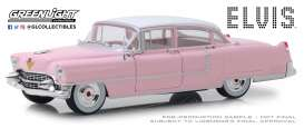Cadillac  - Fleetwood *Elvis* 1955 pink - 1:24 - GreenLight - 84092 - gl84092GM | The Diecast Company