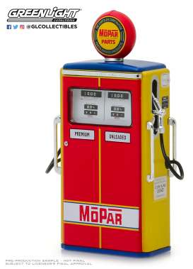 Accessoires diorama - red/yellow/blue - 1:18 - GreenLight - 14060 - gl14060C-GM | The Diecast Company