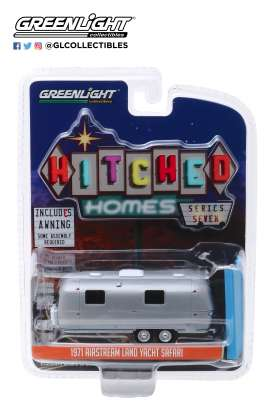 Airstream  - 1971 grey - 1:64 - GreenLight - 34070C - gl34070C | The Diecast Company