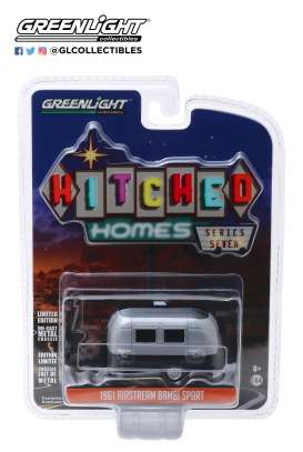 Airstream  - silver/black - 1:64 - GreenLight - 34070E - gl34070E | The Diecast Company