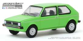 Volkswagen  - Rabbit 1975 green - 1:64 - GreenLight - 29980D - gl29980D | The Diecast Company
