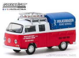 Volkswagen  - Type 2 1976 white/red - 1:64 - GreenLight - 29980E - gl29980E | The Diecast Company