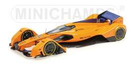 McLaren  - 2018 orange - 1:43 - Minichamps - 537133814 - mc537133814 | The Diecast Company